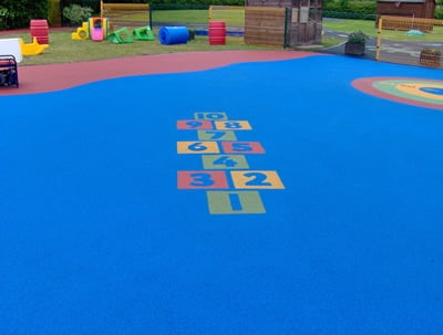 Stubbin Wood Nursery School Hopscotch Playground