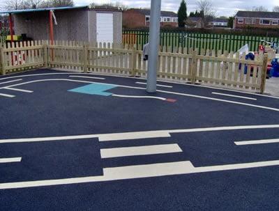 Play Area at Hanbury Farm Pre School