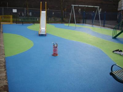 Birmingham Playground Wetpour Safety Surface