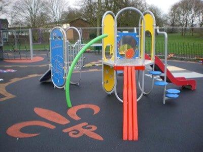 Wetpour design at Tamworth
