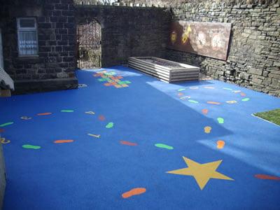 Playground Safety Surface, Whitworth, Lancashire