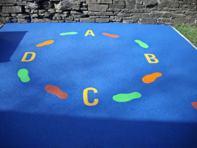 Our Lady & St Anselms,  Whitworth, Lancashire, Playground Safety Surface