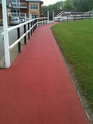 Pontefract Racecourse, BounceBack Rubberised Wetpour path