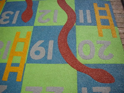 Snakes and Ladders Wetpour Safety Surfacing York