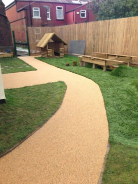 Aggre-Scape resin bound surfacing installation