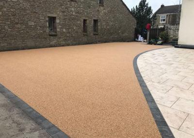 Aggre-scape resin bound gravel driveway, Blackburn
