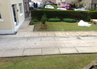 Old driveway flags at Barnoldswick