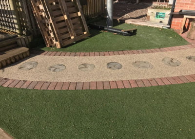 Aggre-Scape Sensory pathway at school